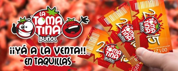 tomatina boletas